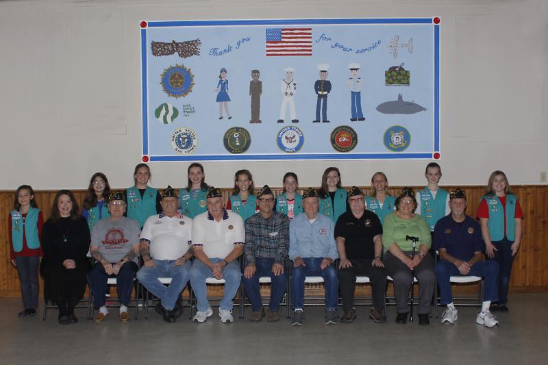 Girl Scout troop dedicates mural