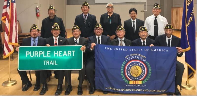 Manuel L. Quezon Post 603 installs 2018-19 officers