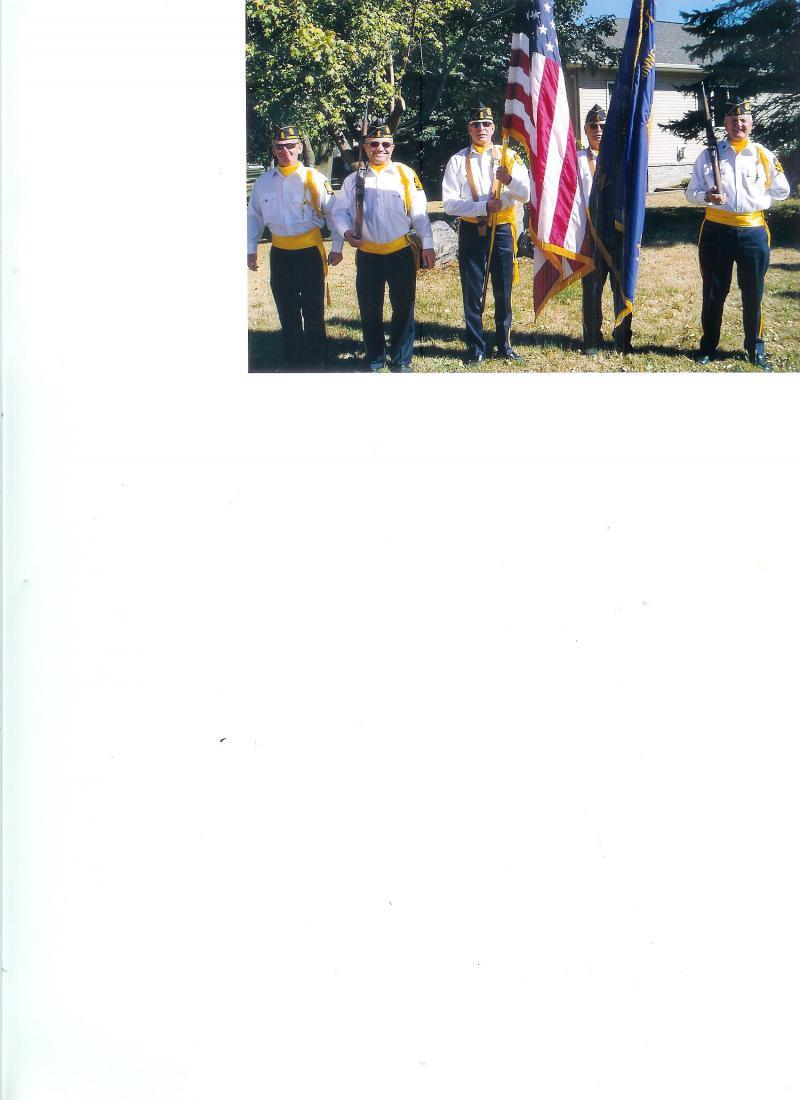 Honor Guard funeral detail