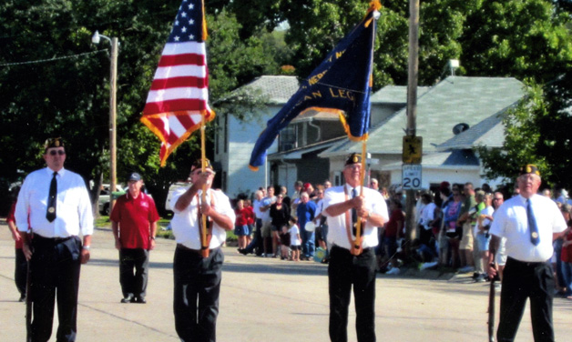 Post 344 wins second place for parade float honoring disabled vets