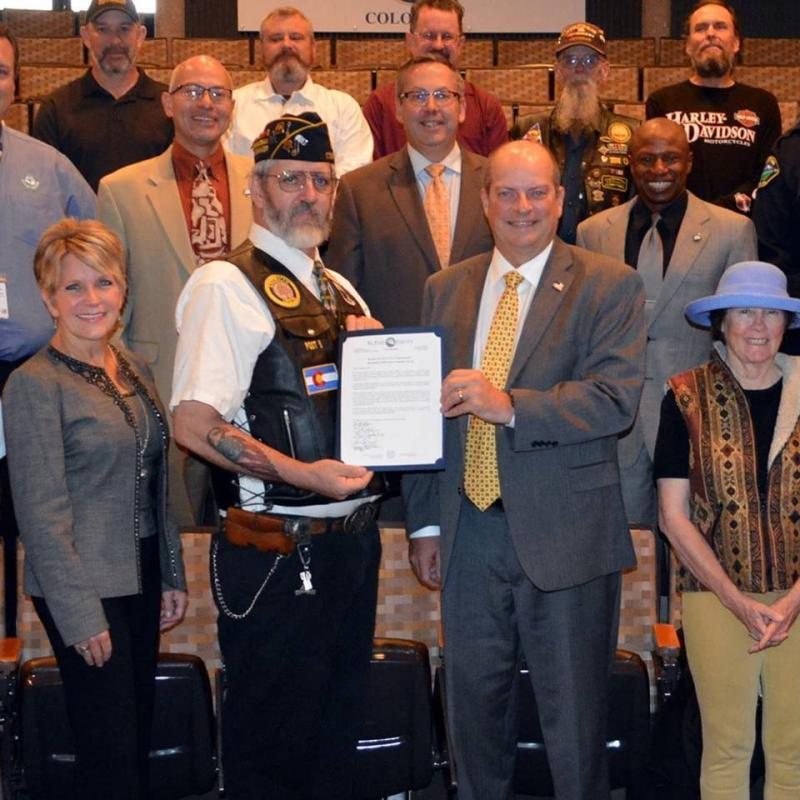 Legionnaire Honored For Honoring others