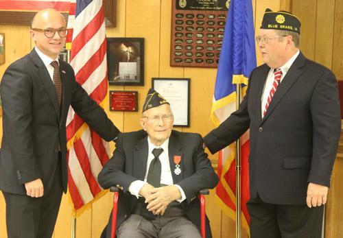 Legionnaire awarded French Legion d'Honneur
