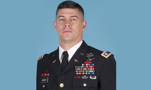 Lt. Col. David Kramer, West Point (1988-1992), U.S. Army (1992-present)