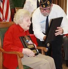 Mary Starr receives appreciation award