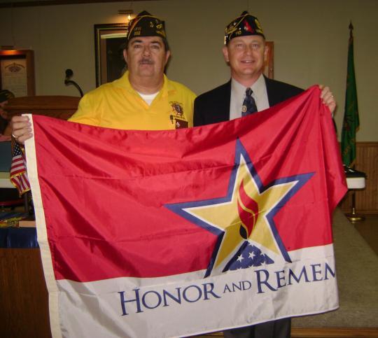 "Virginia Beach Post 110 ""Honors"" local VFW Post"