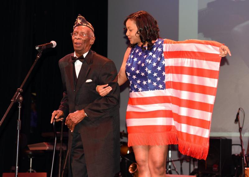 Post 828 elder receives recognition during Black History Month