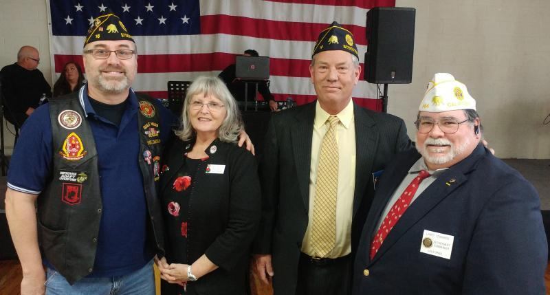 "American Legion Karl Ross Post 16 (Stockton, Calif.) ""meet-n-greet"" event"