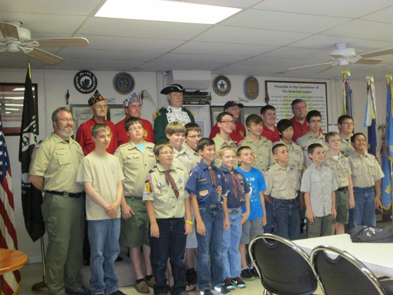 American Flag History program