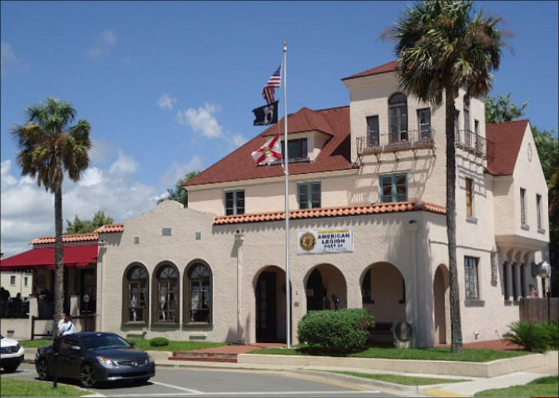 Legion hall represents 450 years of St. Augustine military history