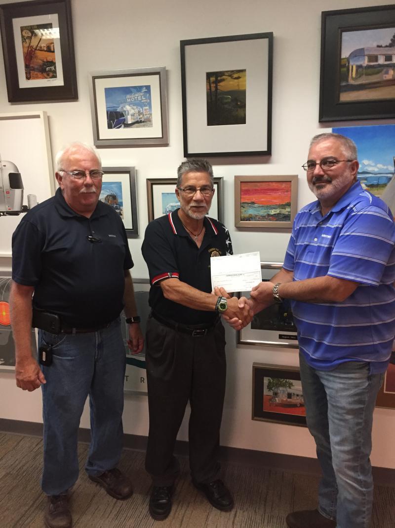 Airstream donates $30,000 to Jackson Center American Legion post
