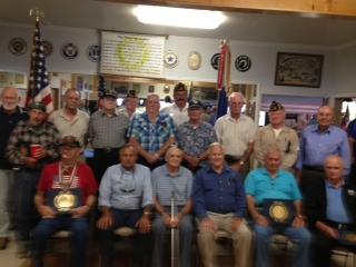 Post 138 Korean War Veterans Honored