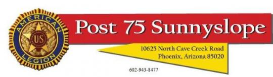 Post 75 Sunnyslope Arizona