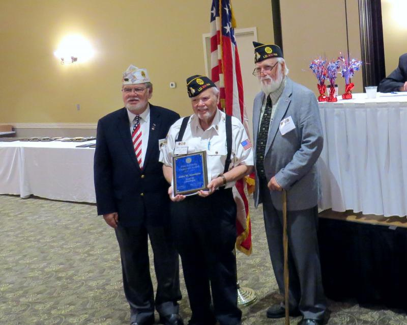 Post 19 Member wins department-level Post Publicity Chairman of the Year Award