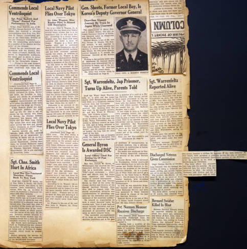 Eight Maryland posts house scrapbooks filled with WWII hometown heroes
