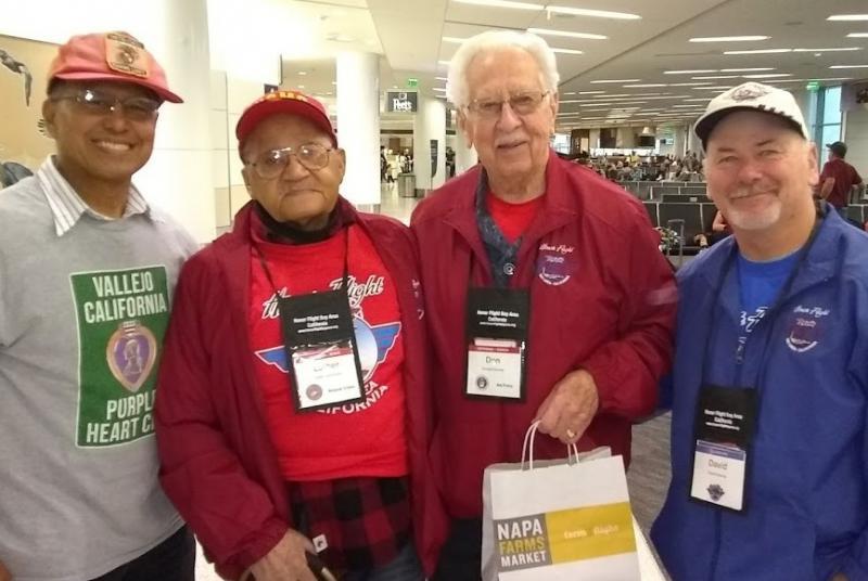 Combat veterans visit Washington, D.C.