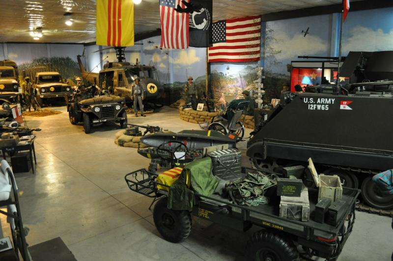 Virginia museum recreates Vietnam soldier experience