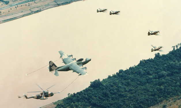 The Air War in  Vietnam