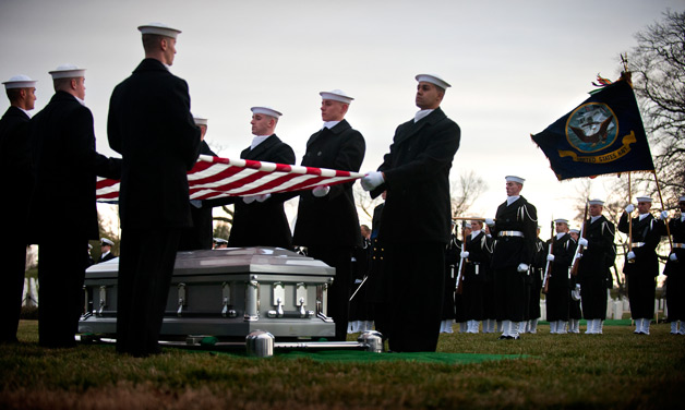 USS Monitor sailors buried at Arlington