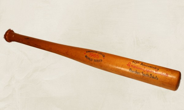 Bat from 1965 Legion World Series