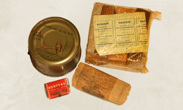 Sample of the K rations