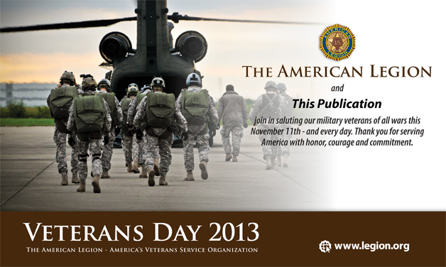 Usaa Contact Us >> Download Veterans Day speech, ad slicks | The American Legion