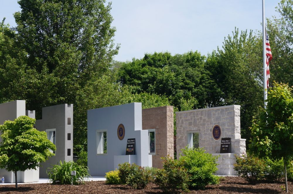 Veterans Memorial in Silver Spring Township