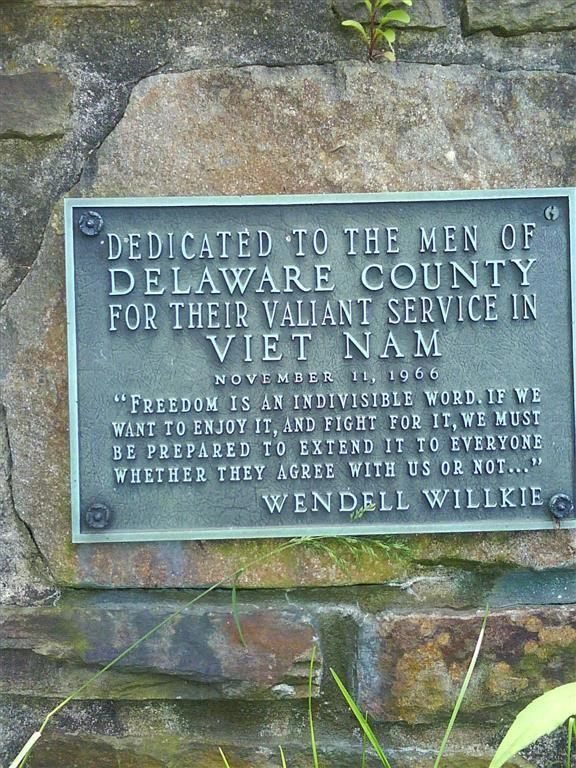 Chadds Ford Vietnam Veterans Memorial