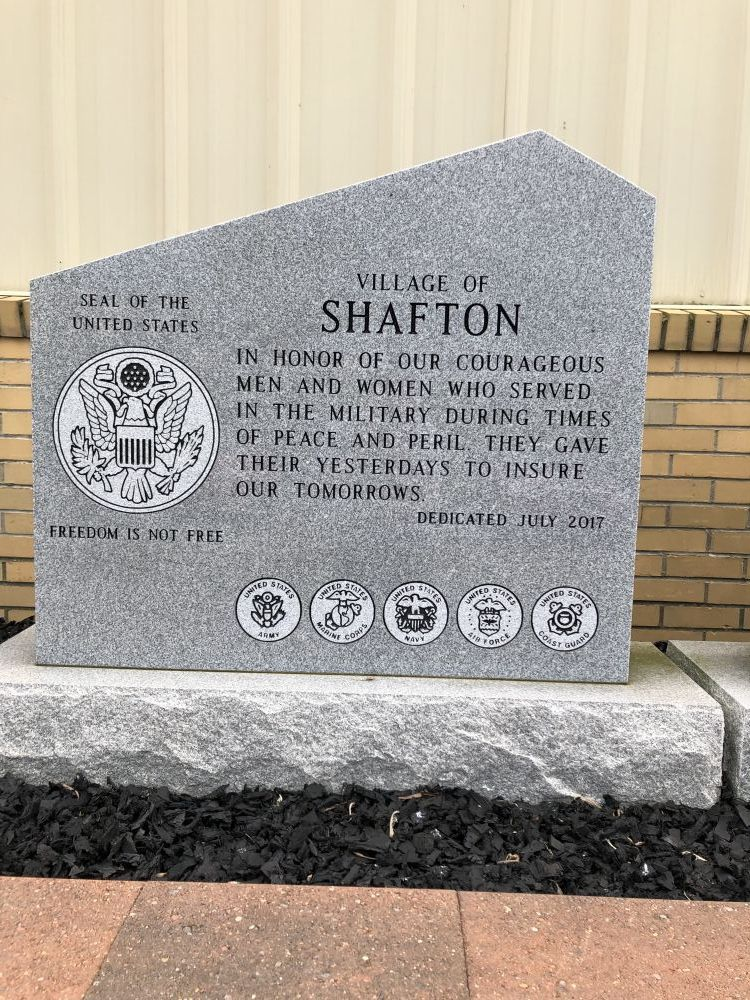 Shafton Veterans & Fire Company Memorial