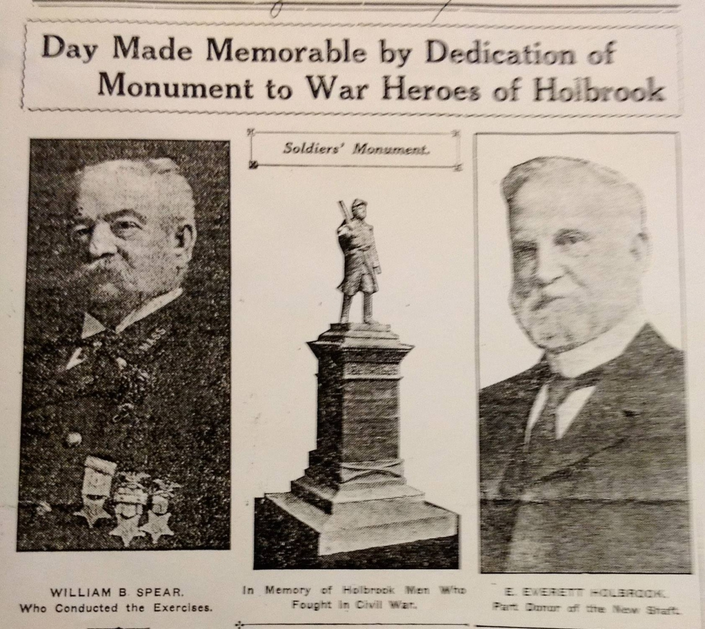 Mary Wales Holbrook Park Memorial