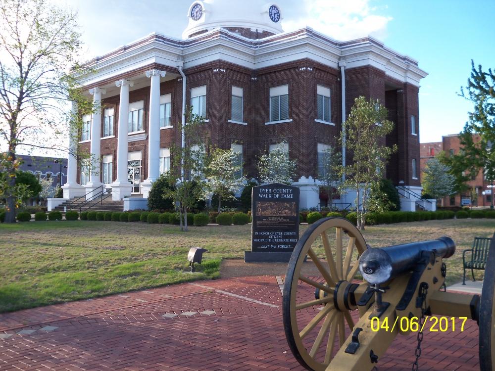 Dyer County Walk of Fame - Dyersburg, TN