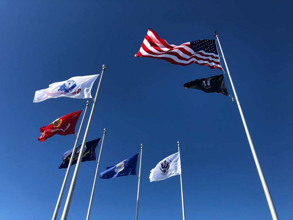 The Honor Walk, Veteran's Memorial Park, Port St. Joe, Florida