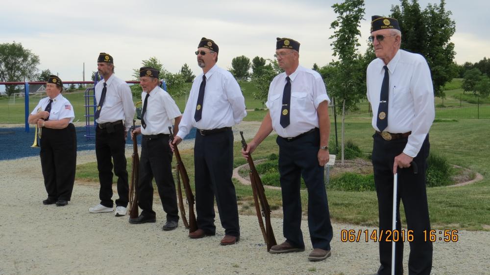 WILBUR C. HALL POST 77 PAUL Idaho Memorial