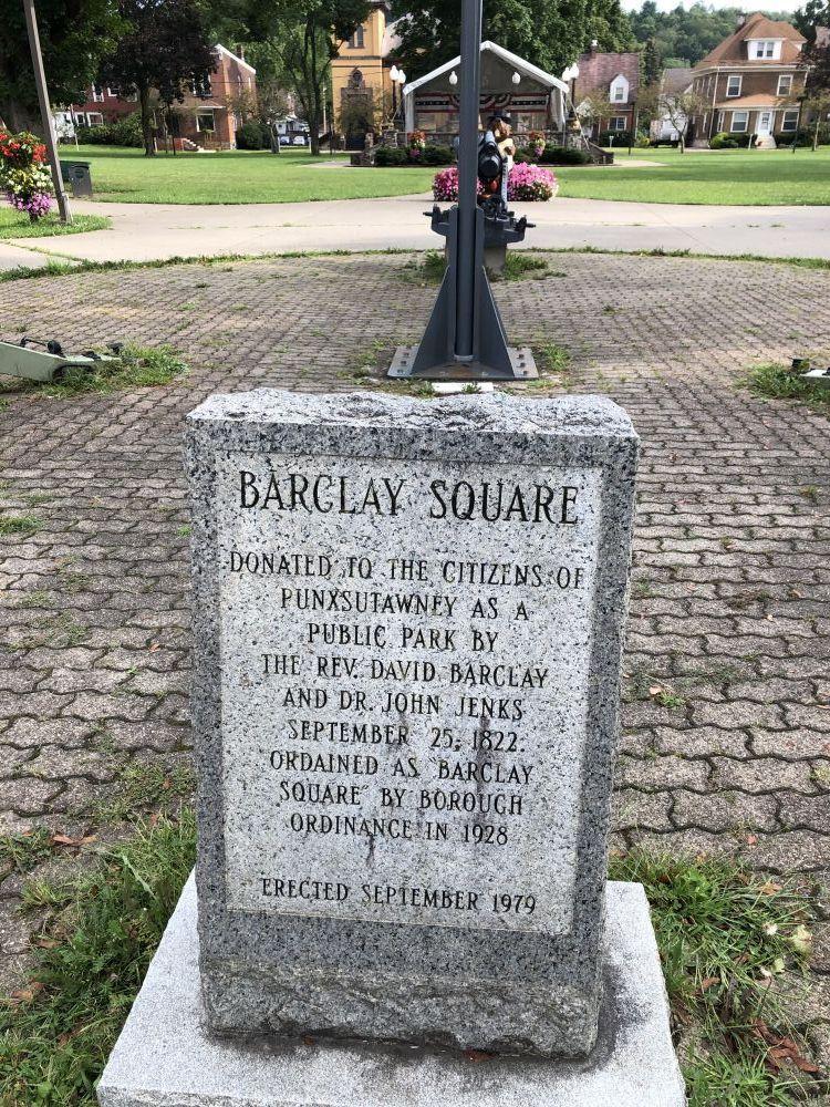 Barclay Square Veterans Memorials