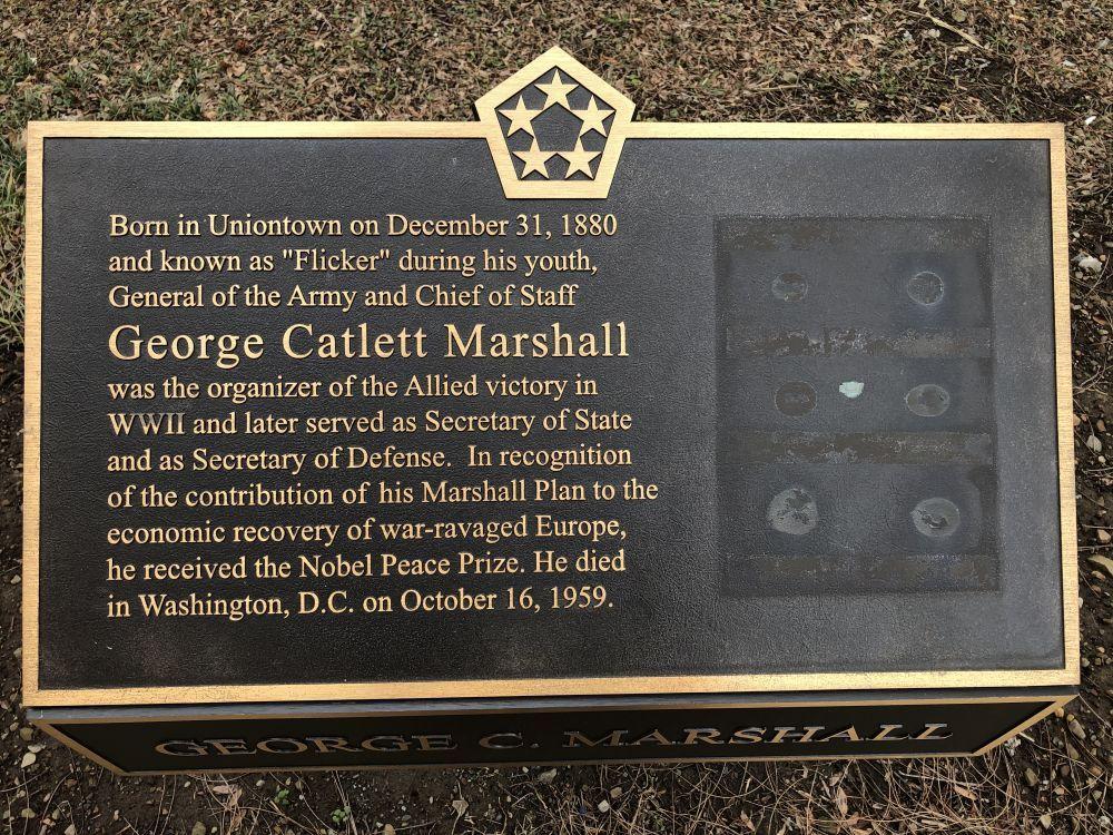 General Marshall Equestrian Statue