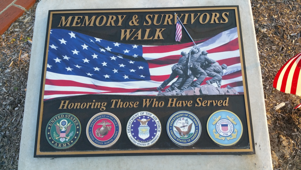 City of Seaford, Memory and Survivors' Walk