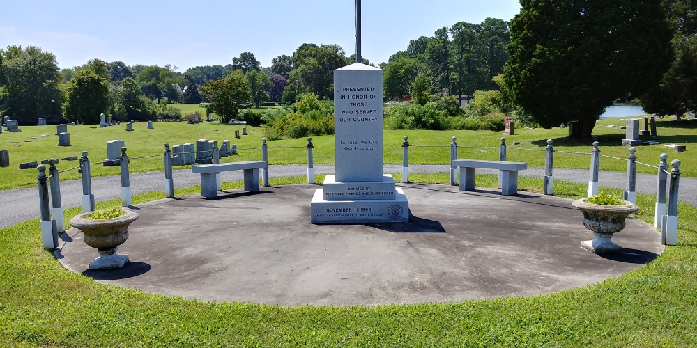 American Legion Memorial honoring all those who served our country