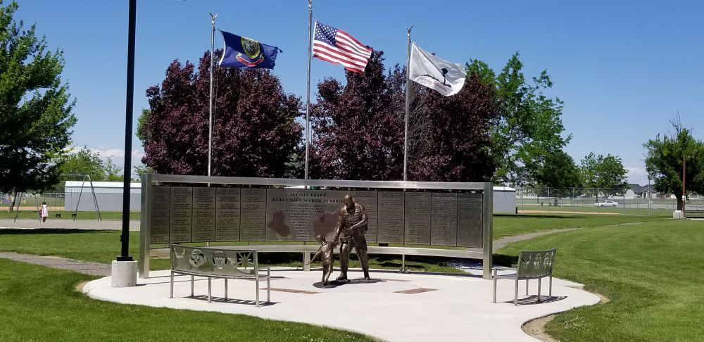 Sgt Dan Brown Idaho Fallen Soldiers Memorial