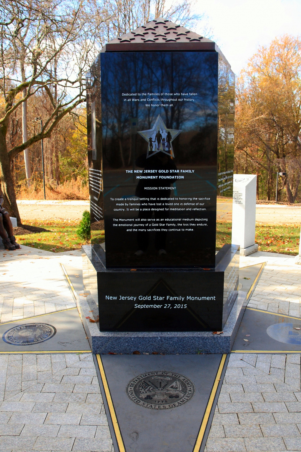New Jersey Gold Star Family Monument