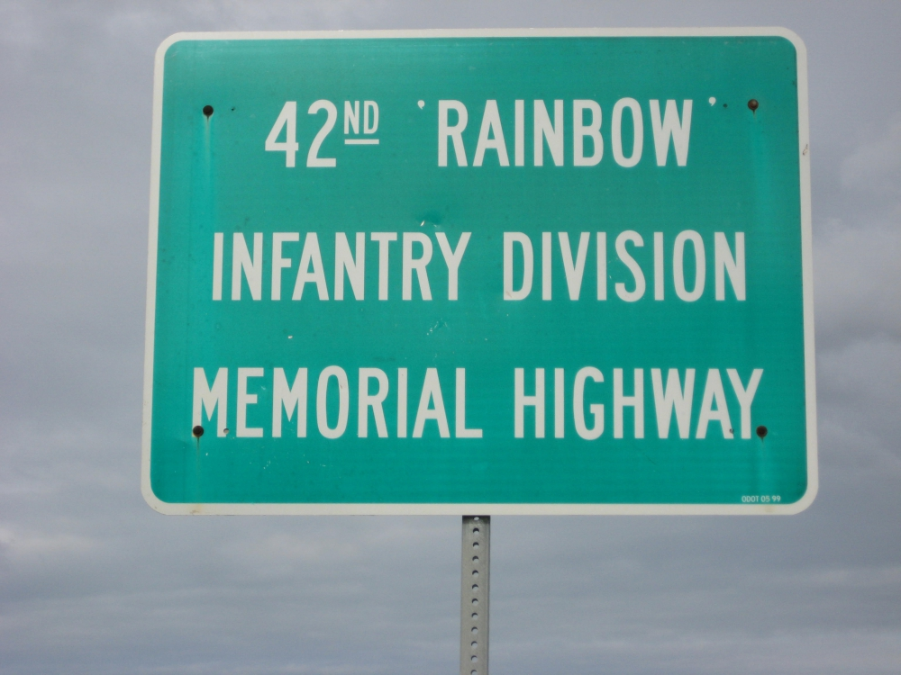 42nd Rainbow Infantry Division Memorial Highway
