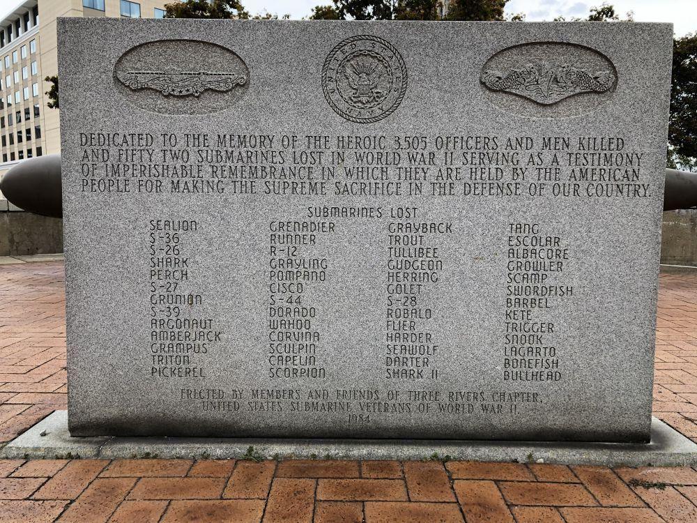 Pittsburgh Submarine Memorial