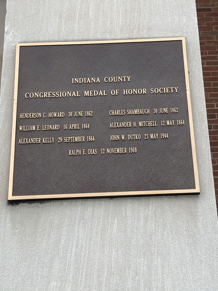 Indiana County Medal of Honor Memorial