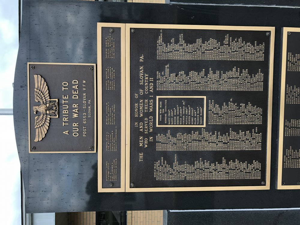 Slovan Veterans Memorial
