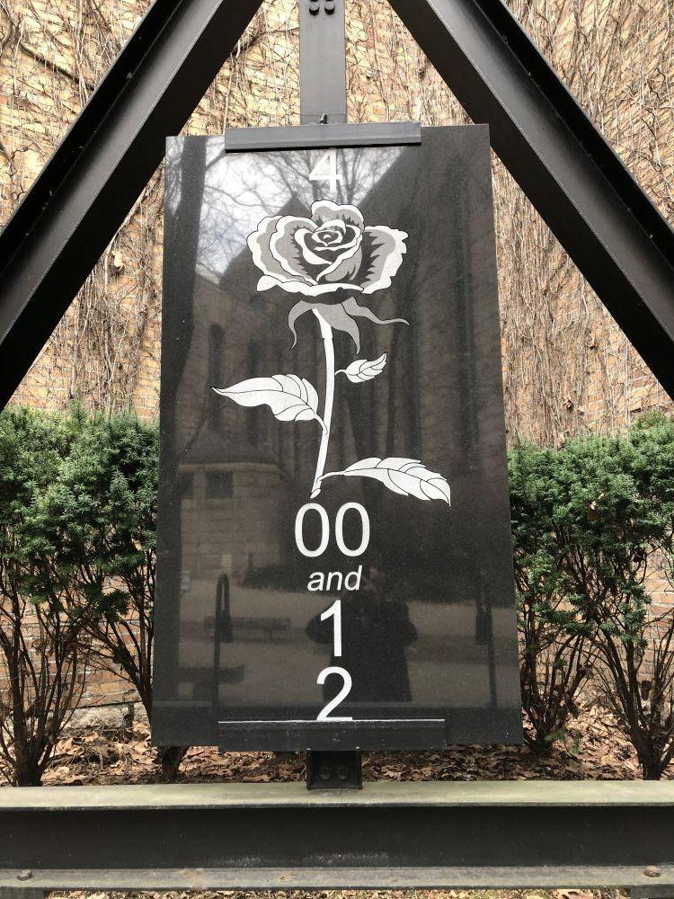 Black Granite Vietnam War Memorial Park