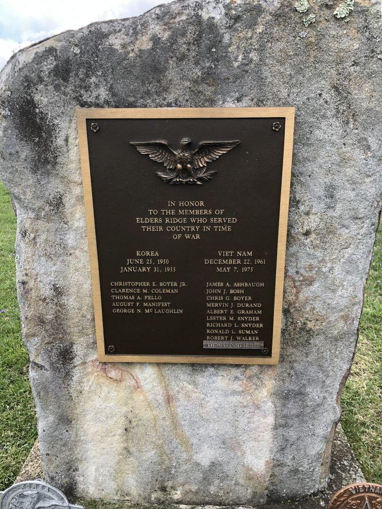 Elder's Ridge Honor Rolls