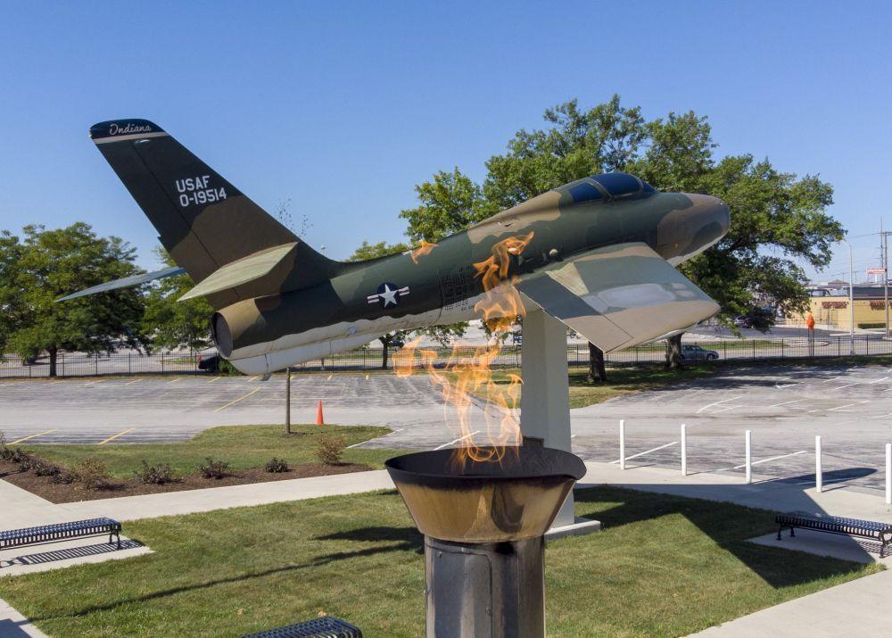 Veterans Plaza at Allen County War Memorial Coliseum