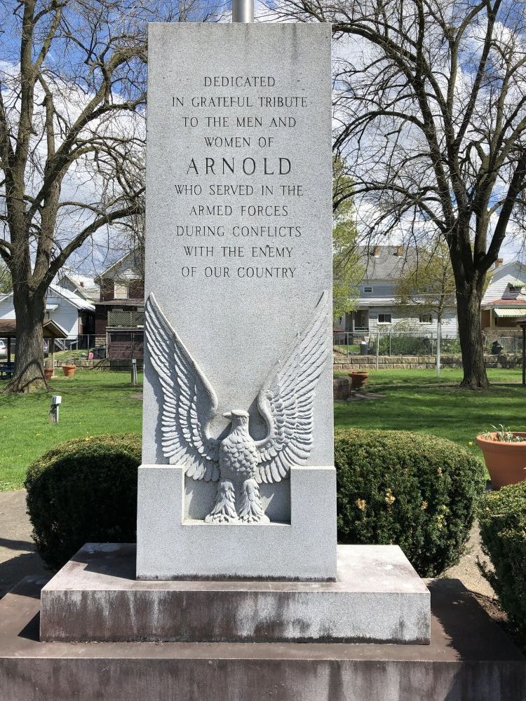Arnold Veterans Monument