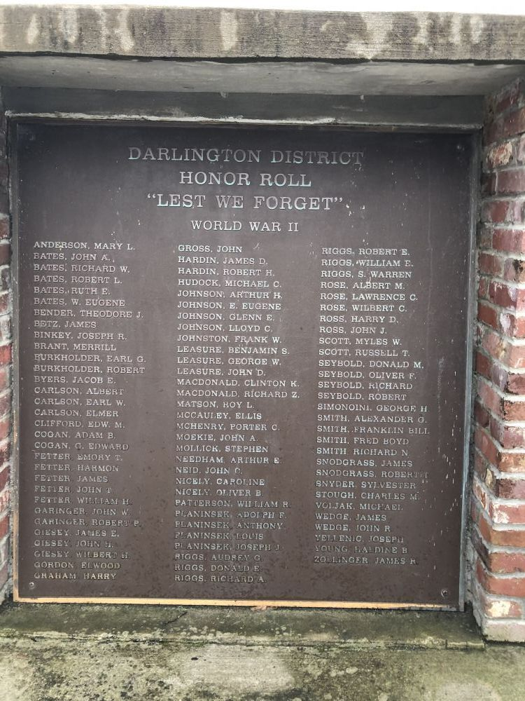 Darlington Honor Roll