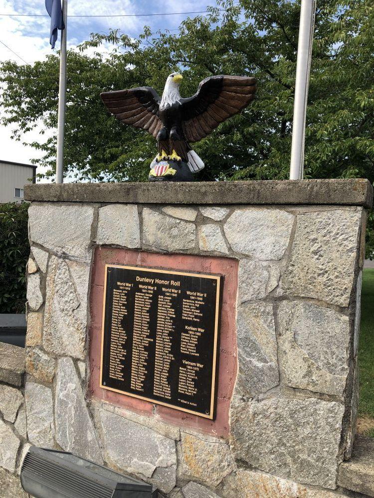Dunlevy Veterans Memorial
