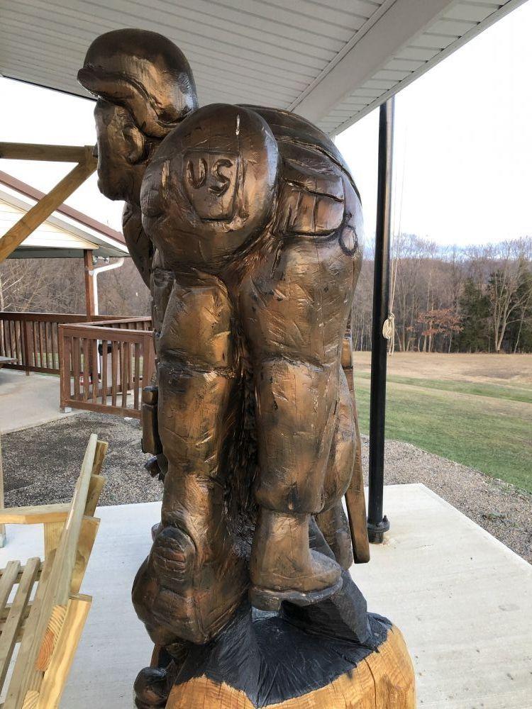 Shannock Valley VFW Memorial, Sagamore, Pennsylvania