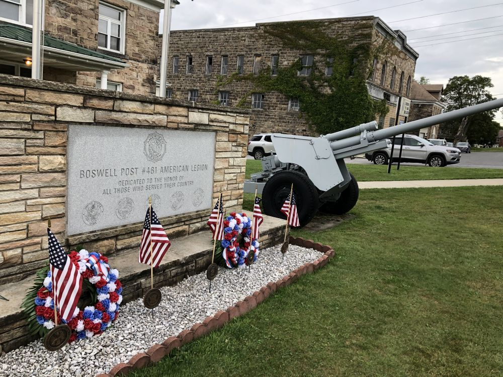 Boswell Legion Veterans Memorial